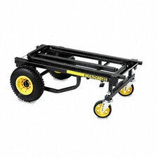 Multi-Cart® 8-in-1 Equipment Cart, 500lb Capacity, Black