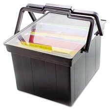 <strong>Advantus Corp.</strong> Companion Portable File Storage Box, Legal/Letter, Plastic