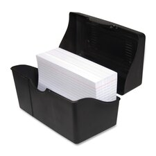 "Index Card Holders, 4""x6"", Black"