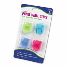 Fabric Panel Wall Clip (Set of 4)