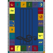 Educational Note Worthy Area Rug