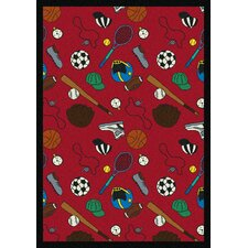 <strong>Joy Carpets</strong> Multi-Sport Kids Rug