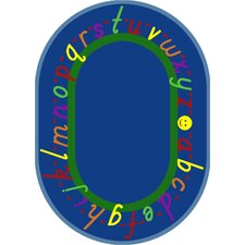 Educational AlphaScript Kids Rug