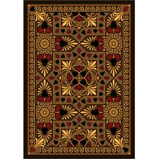 Gaming and Entertainment People Play Beige Jackpot Poker Novelty Rug