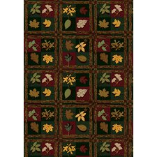 Nature Family Legacies Woodland Trail Novelty Rug