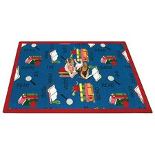 <strong>Joy Carpets</strong> Faith Based Read the Word Kids Rug