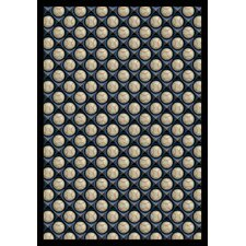 <strong>Joy Carpets</strong> Sports Bases Loaded Clear Skies Novelty Rug
