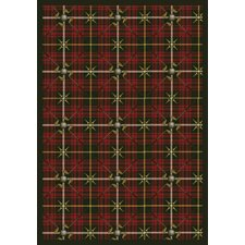 Sports Saint Andrews Tartan Green Rug