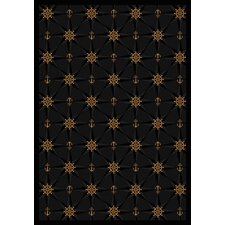 Whimsy Mariner's Tale Onyx Novelty Rug