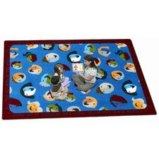 Faith Based Children of the World Kids Rug