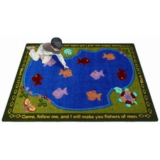 <strong>Joy Carpets</strong> Faith Based Fishers of Men Kids Rug