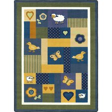 <strong>Joy Carpets</strong> Just for Kids Baby Love Bold Kids Rug