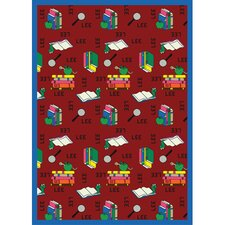 <strong>Joy Carpets</strong> Just for Kids Bookworm Spanish Kids Rug