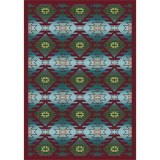 Whimsy Canyon Ridge Desert Kids Rug