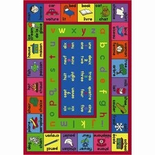<strong>Joy Carpets</strong> Educational Lengualink French Kids Rug