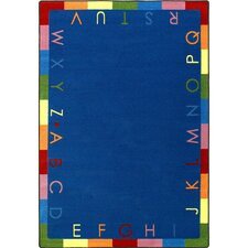 <strong>Joy Carpets</strong> Educational Rainbow Alphabet Kids Rug