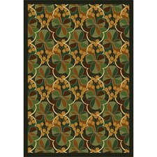 Nature Shamrock Kids Rug