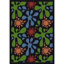 Whimsy Splat Kids Rug