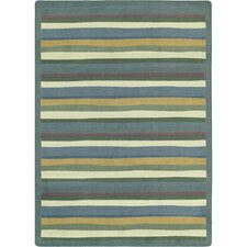 <strong>Joy Carpets</strong> Just for Kids Yipes Stripes Soft Kids Rug