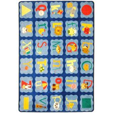 <strong>Joy Carpets</strong> Just For Kids Alphabet Kids Rug