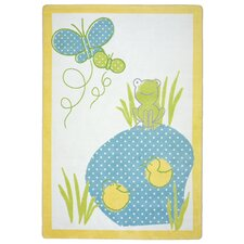 Just For Kids Polka Dot Pool Kids Rug