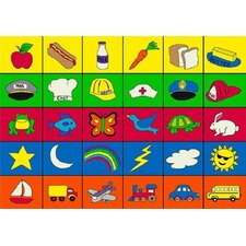 Educational Categories Kids Rug