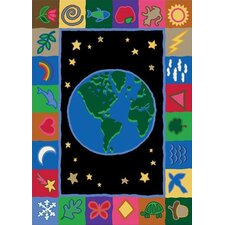 Educational EarthWorks Kids Rug