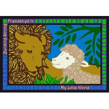 Educational My Little World Kids Rug