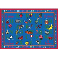Educational Phonics Fun Kids Rug