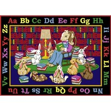 Educational Reading Rocks Kids Rug
