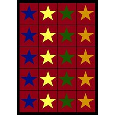 <strong>Joy Carpets</strong> Educational Star Space Kids Rug