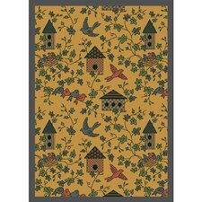 Nature Gold Sweet Tweet Novelty Rug
