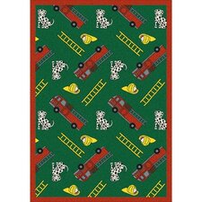 <strong>Joy Carpets</strong> Just for Kids Hook and Ladder Kids Rug