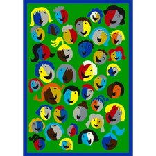 Just for Kids Joyful Faces Kids Rug