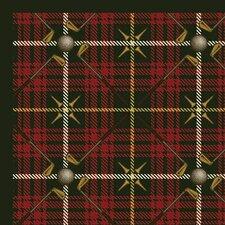 Sports Saint Andrews Tartan Green Rug