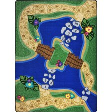 Kid Essentials Alphabet Trail Kids Rug