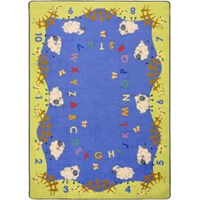 <strong>Joy Carpets</strong> Kid Essentials Lamby Pie Kids Rug