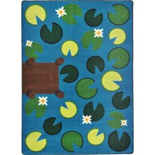 <strong>Joy Carpets</strong> Kid Essentials Playful Pond Kids Rug