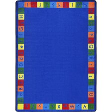 Kid Essentials Primarily Alphabet Kids Rug