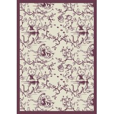 Nature Fancy Fiddlers Kids Rug