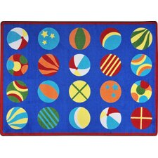 <strong>Joy Carpets</strong> Kid Essentials Have a Ball Kids Rug