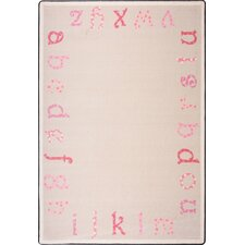 <strong>Joy Carpets</strong> Kid Essentials Polka Dot ABC's Kids Rug