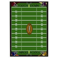 Sports Football Fun Novelty Rug