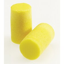 Use E-A-R® Classic® Cylinder Shaped PVC And Foam Uncorded Earplugs (200 Pair Per Value Package Box)