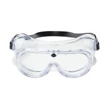 General Duty Chemical Splash Goggles With Clear Flexible Frame And Clear Duralite® Lens