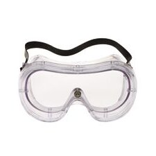 Chemical Splash Goggles With Clear Frame, Clear Duralite® DURAFON® Anti-Fog Lens And Vent Free Ventilation System