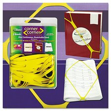 Corner Rubber Bands, 8 1/2""