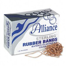 Sterling Ergonomically Correct Rubber Band, #19, 3-1/2 X 1/16, 1700 Bands/1 Lb Box