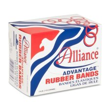 "Rubber Bands, Size 33, 1/4 lb., 3-1/2"" x 1/8"", Natural"