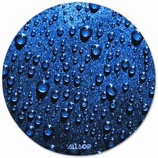 Raindrop Round Mouse Pad